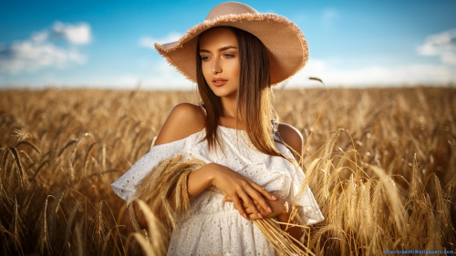 Beautiful Girl Standing In Wheat Field,  Beautiful Girl With Hat In Wheat Field,  Girl In Wheat Field,  Girl Standing In Wheat Field,  Girl In Field,  Girl With Hat,  Girl In White Dress,  Girl In Off Shoulder Dress,  Girl In Bare Shoulder Dress,  Girl Looking Down,  Girl In Sunlight,  Beautiful Girl,  Cute Girl,  Beautiful,  Cute,  Pretty,  Innocent,  Shy,  Girl,  Women,  Model,  Pink Lips,  Gray Eyes,  Face Makeup,  Eyes Makeup,  Makeup Model,  Makeup Girl,  Makeup Women,  White Dress,  Bare Shoulder Dress,  Off Shoulder Dress,  Bare Shoulder,  Off Shoulder,  Western,  Tunic,  Dress,  Wear,  Hat,  Fashion,  Style,  Looking Down,  Standing In Wheat Field,  Standing In Field,  Standing,  Wheat Field,  Wheat Farming,  Wheat Agriculture,  Wheat Farming,  Wheat,  Field,  Agriculture,  Farming,  Cultivation,  Landscape,  Sunlight,  Standing,  Outdoor,  Photo Shoot,  Girl Wallpapers,  Latest,  HD,  Wallpapers,  Download,  DAW813