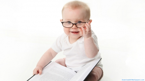 Baby, Child, Kid, Infant, Toddler, Reading, Book, Spectacles, Sitting, Indoor, Photo Shoot, White Background,Baby Reading Book, Baby With Book, Baby In Spectacles, Baby In White Dress, Baby, Child, Kid, Infant, Toddler, Reading, Book, Spectacles, Sitting, Indoor, Photo Shoot, White Background, Baby Wallpapers, Latest, HD, Wallpapers, Download, DAW1520